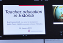 "Предавање ""Teacher education in Estonia: policy and practice"""